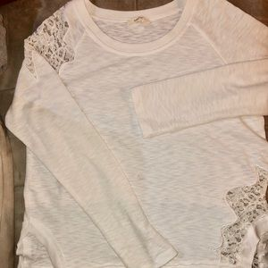 NWOT Anthropologie mystree lace top